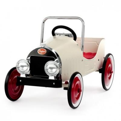 Pedaalidega auto Classic Beige