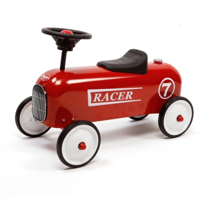 Lükatav auto Racer red