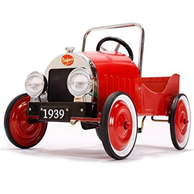 Pedaalidega auto Classic red