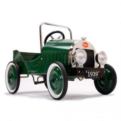 Pedaalidega auto Classic green
