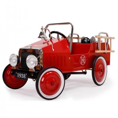 Pedaalidega Tuletõrje auto